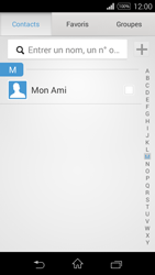 Sony Xpéria E3 - Contact, Appels, SMS/MMS - Envoyer un SMS - Étape 7