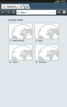 Samsung T315 Galaxy Tab 3 8-0 LTE - Internet - navigation sur Internet - Étape 3