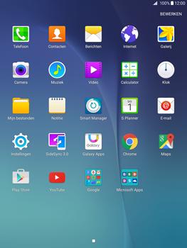 Samsung Galaxy Tab A 9.7 (SM-T555) - Internet - Hoe te internetten - Stap 2