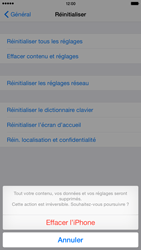 Apple iPhone 6 Plus iOS 8 - Device maintenance - Retour aux réglages usine - Étape 8