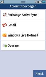 Samsung S5250 Wave 525 - E-mail - e-mail instellen: POP3 - Stap 4