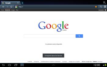 Samsung P5100 Galaxy Tab 2 10-1 - Internet - navigation sur Internet - Étape 9