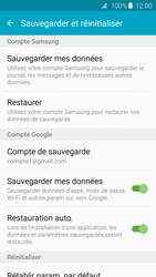 Samsung G925F Galaxy S6 Edge - Device maintenance - Back up - Étape 10