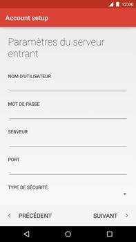Motorola Nexus 6 - E-mail - Configuration manuelle - Étape 15