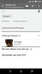 HTC Desire 530 - E-mail - Hoe te versturen - Stap 18