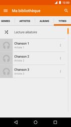 Motorola Moto E (1st Gen) (Lollipop) - Photos, vidéos, musique - Ecouter de la musique - Étape 8