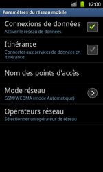 Samsung I8530 Galaxy Beam - Réseau - utilisation à l'étranger - Étape 14