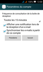 Huawei Y3 - E-mail - Configuration manuelle (yahoo) - Étape 8