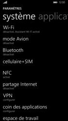 Nokia Lumia 830 - Internet - activer ou désactiver - Étape 4