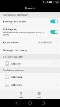 Huawei G8 - Bluetooth - koppelen met ander apparaat - Stap 9