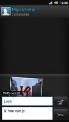 Sony MT27i Xperia Sola - MMS - Afbeeldingen verzenden - Stap 16