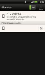 HTC T328e Desire X - Bluetooth - Jumeler avec un appareil - Étape 9