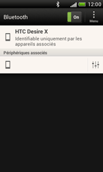 HTC T328e Desire X - Bluetooth - connexion Bluetooth - Étape 11