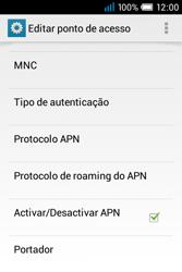 Alcatel POP C1 - Internet no telemóvel - Como configurar ligação à internet -  16