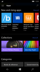 Microsoft Lumia 650 - Applications - Download apps - Step 12