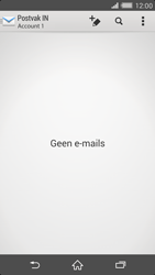 Sony Xperia Z2 4G (D6503) - E-mail - Handmatig instellen - Stap 5