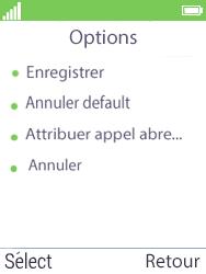 Mobiwire Doli - Contact, Appels, SMS/MMS - Ajouter un contact - Étape 8