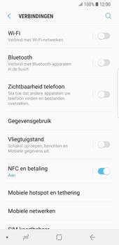 Samsung Galaxy S9 - Wi-Fi - Verbinding maken met Wi-Fi - Stap 5