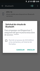HTC 10 - Bluetooth - Conectar dispositivos a través de Bluetooth - Paso 7