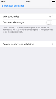 Apple Apple iPhone 6s Plus iOS 10 - Internet - Configuration manuelle - Étape 6