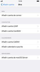 Apple iPhone 6 - iOS 11 - E-mail - Configurar correo electrónico - Paso 6