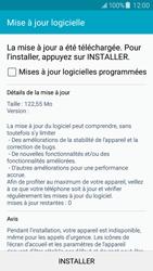 Samsung J500F Galaxy J5 - Réseau - Installation de mises à jour - Étape 10