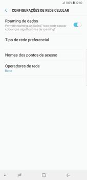 Samsung Galaxy Note 8 - Internet no telemóvel - Como configurar ligação à internet -  8