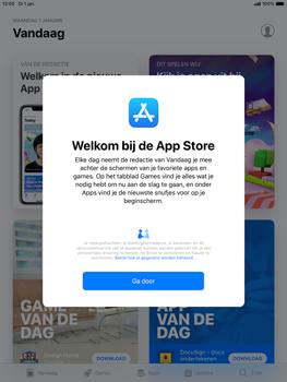 Apple ipad-mini-5-7-9-inch-2019-model-a2124 - Applicaties - Account aanmaken - Stap 3