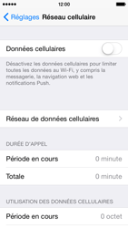 Apple iPhone 5s - iOS 8 - Internet - activer ou désactiver - Étape 5