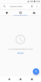 Sony Xperia XZ2 - Voicemail - handmatig instellen - Stap 5