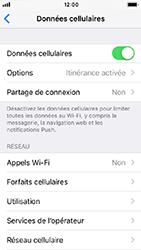 Apple iPhone SE - iOS 12 - Internet - Désactiver du roaming de données - Étape 4
