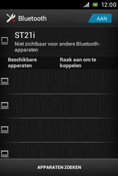 Sony ST21i Xperia Tipo - Bluetooth - Koppelen met ander apparaat - Stap 6