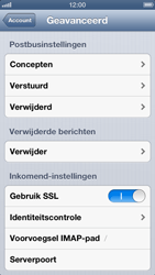 Apple iPhone 5 - E-mail - Handmatig instellen - Stap 20