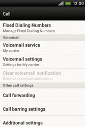 HTC A320e Desire C - Voicemail - Manual configuration - Step 5