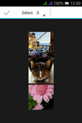Alcatel Pixi 3 Dual Sim - Photos, vidéos, musique - Envoyer une photo via Bluetooth - Étape 7