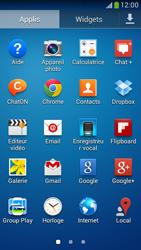 Samsung C105 Galaxy S IV Zoom LTE - E-mail - Configuration manuelle - Étape 3