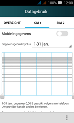 Huawei Y3 - Internet - Mobiele data uitschakelen - Stap 7