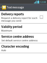 LG E430 Optimus L3 II - SMS - Manual configuration - Step 9