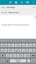 Samsung A500FU Galaxy A5 - E-mail - Escribir y enviar un correo electrónico - Paso 9