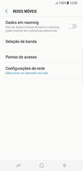 Samsung Galaxy S8 - Internet (APN) - Como configurar a internet do seu aparelho (APN Nextel) - Etapa 8