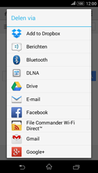 Sony Xperia E4g (E2003) - Internet - Hoe te internetten - Stap 21