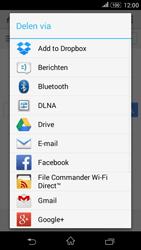 Sony Xperia E4g (E2003) - Internet - Internet gebruiken - Stap 21