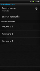 Sony LT22i Xperia P - Network - Usage across the border - Step 9