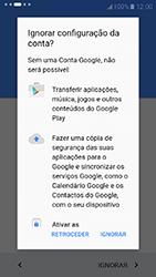 Samsung Galaxy A3 (2017) - Primeiros passos - Como ligar o telemóvel pela primeira vez -  12