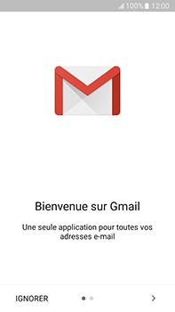 Samsung Samsung Galaxy J7 (2016) - E-mails - Ajouter ou modifier votre compte Gmail - Étape 5