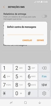 Samsung Galaxy S8 - SMS - Como configurar o centro de mensagens -  9