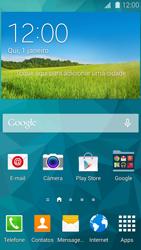 Samsung G900F Galaxy S5 - Rede móvel - Como ativar e desativar uma rede de dados - Etapa 1