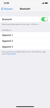 Apple iPhone XS - iOS 12 - Internet et connexion - Connexion avec un équipement multimédia via Bluetooth - Étape 6