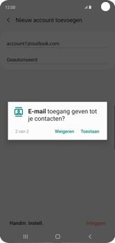 Samsung galaxy-s10-dual-sim-sm-g973f - E-mail - 032c. Email wizard - Outlook - Stap 13