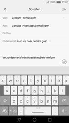 Huawei Nova - E-mail - e-mail versturen - Stap 8
